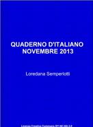 Quaderno d'Italiano
