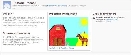 Progettiamo con Scratch